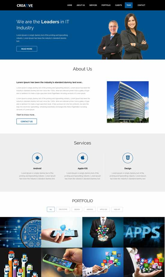 Creative-Free-Responsive-html5-Business-Template
