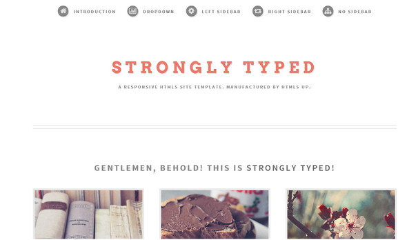 Strongly-Typed-HTML5-UP