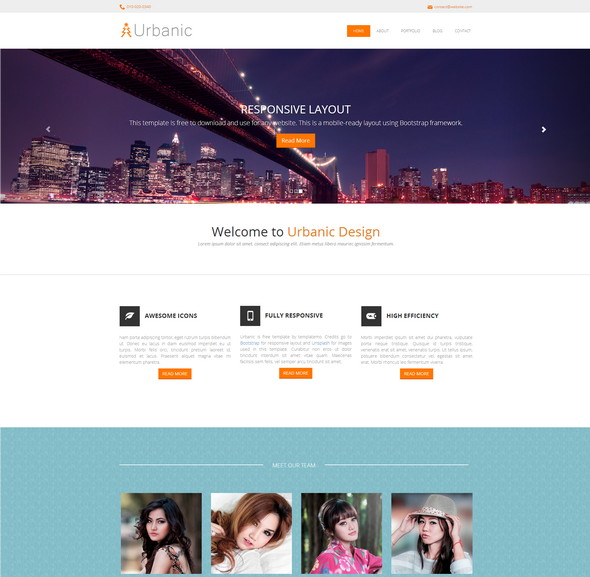 Urbanic-Bootstrap-Template