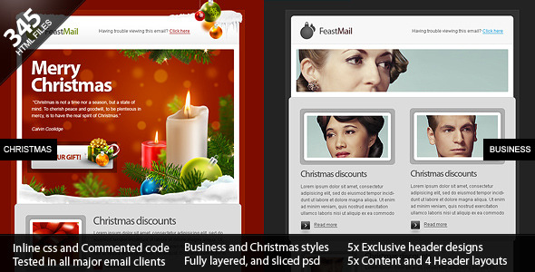 FeastMail-Christmas-and-Corporate-Template