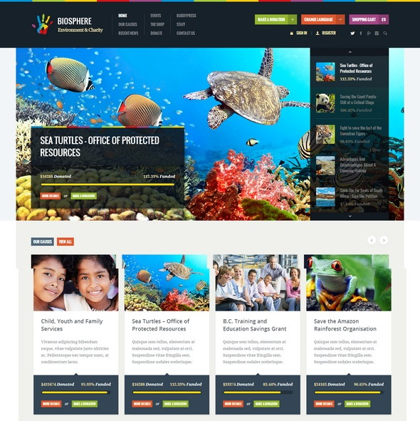 Environment-Charity-WordPress-Theme