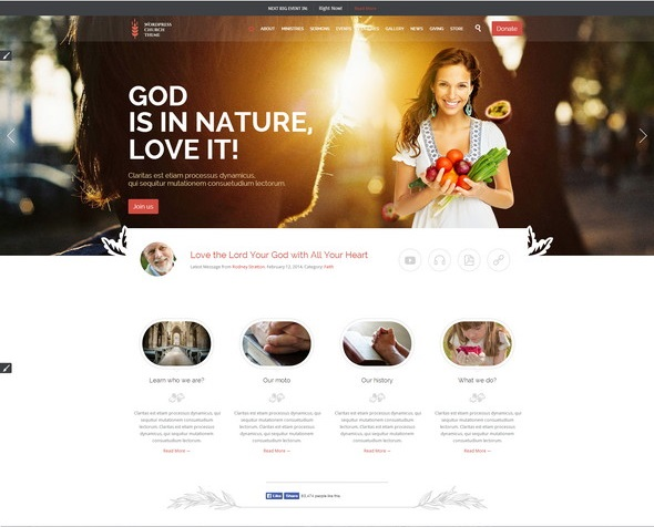 church-event-wordpress-theme