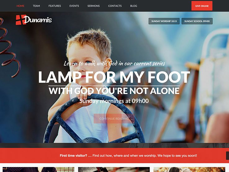 dunamis-wordpress-theme