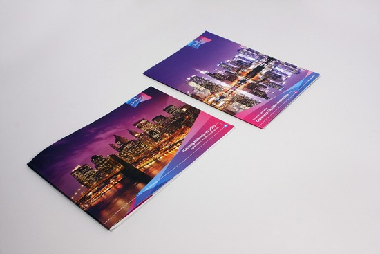 Genela catalog Travel Brochure Template
