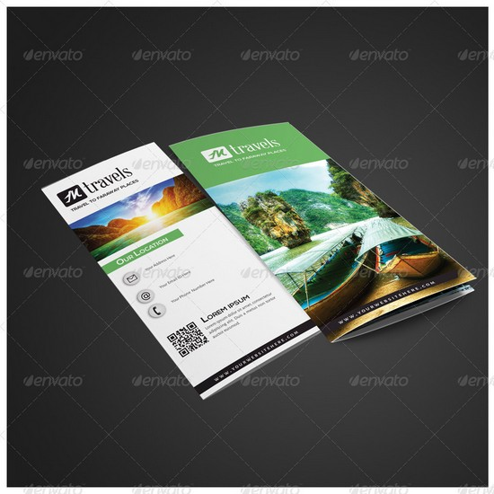 New Tri fold Travel Brochure
