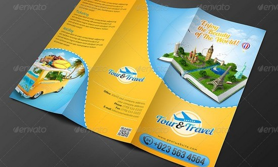 30 Best Travel and Tourist Brochure Templates – Tourism Brochure Template