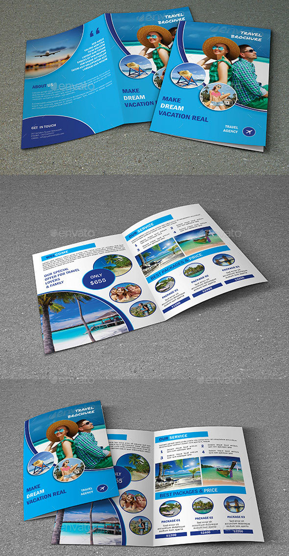 Travel Tour Brochure Template V319