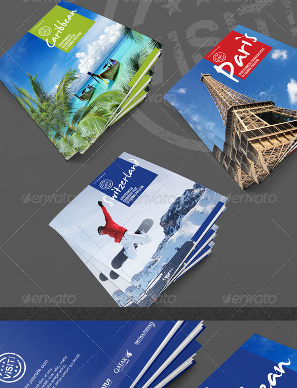 tourism Tourist Brochure Template