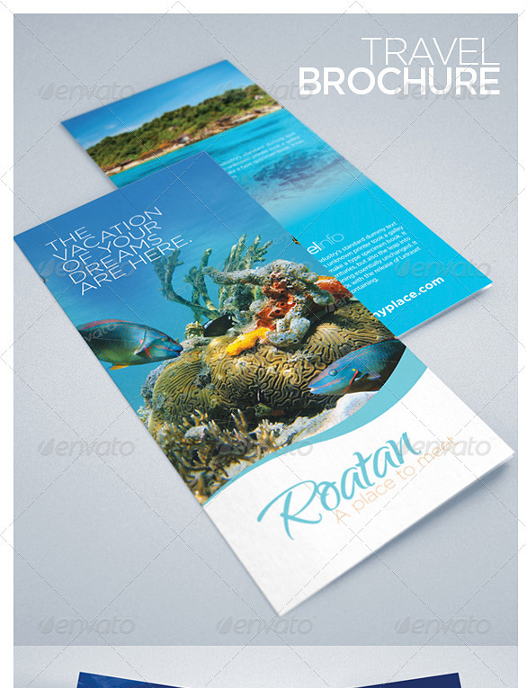 travel and tourism-Tourist Brochure Templates
