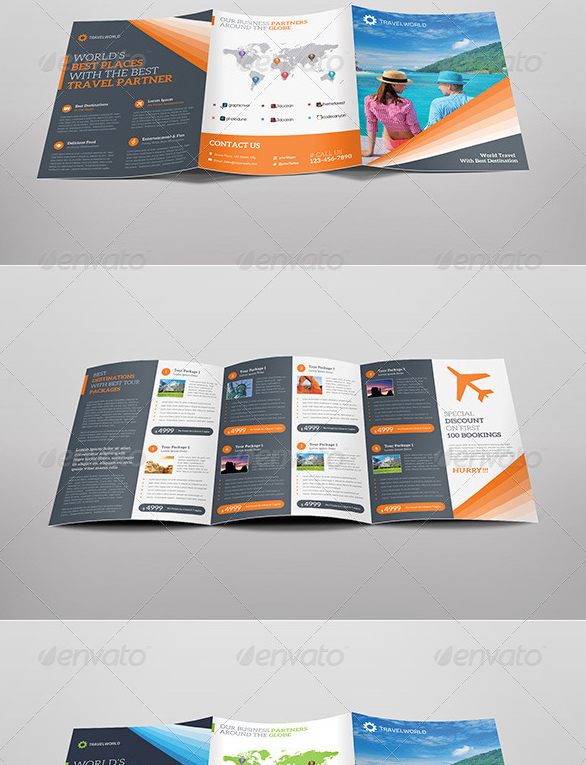 travelworld Tourist Brochure Template