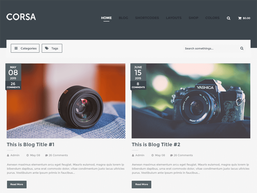 wordpress ecommerce templates download
