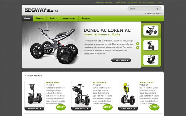 free ecommerce website templates - free ecommerce website templates