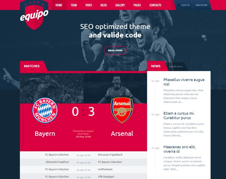 equipo responsive wordpress theme free download