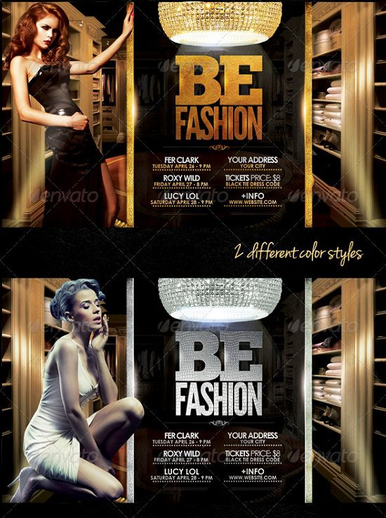 Be Fashion Flyer Template Download