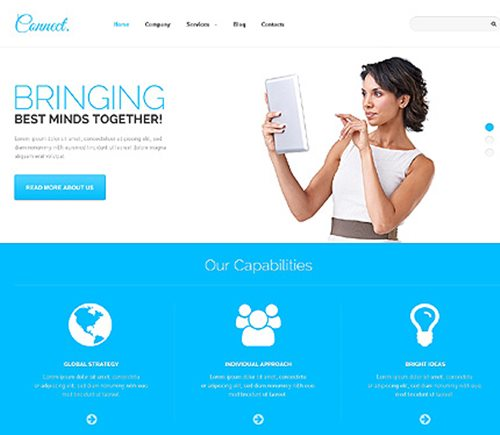 Beautiful WordPress Theme