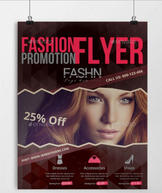 Fashion Promotional Template