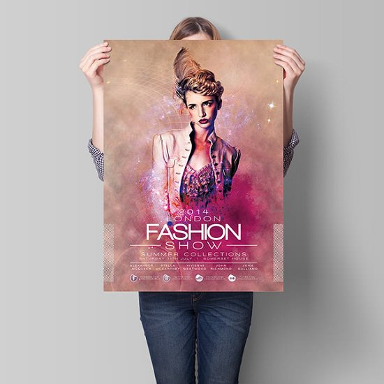 London Fashion Show Flyer Template Download