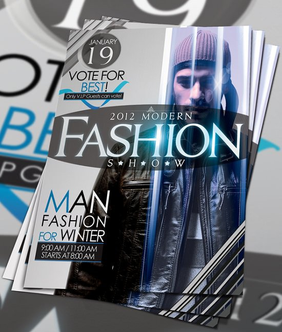 PSD Fashion Flyer Template Download