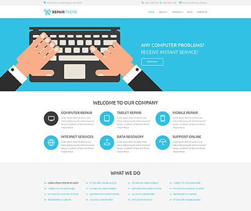 WordPress-New-Theme