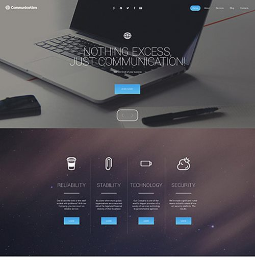 WordPress-modernTheme