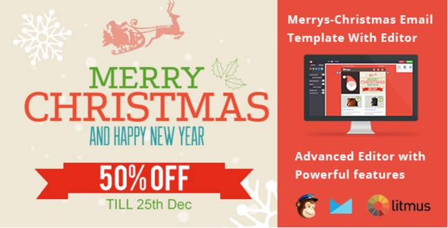 Best Responsive Christmas Email Templates
