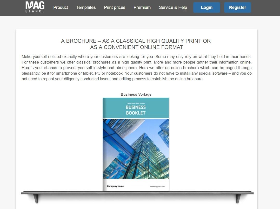 make brochure online free printable