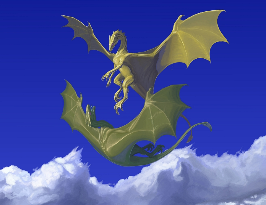 blue dragon wallpaper download