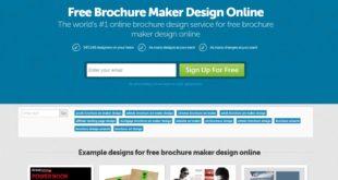 designcrowd brochure maker tool
