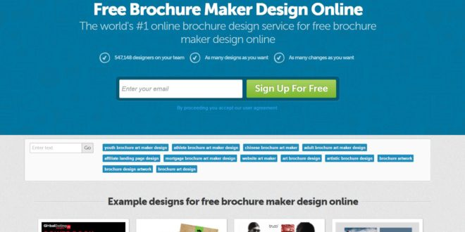 brochure maker for free