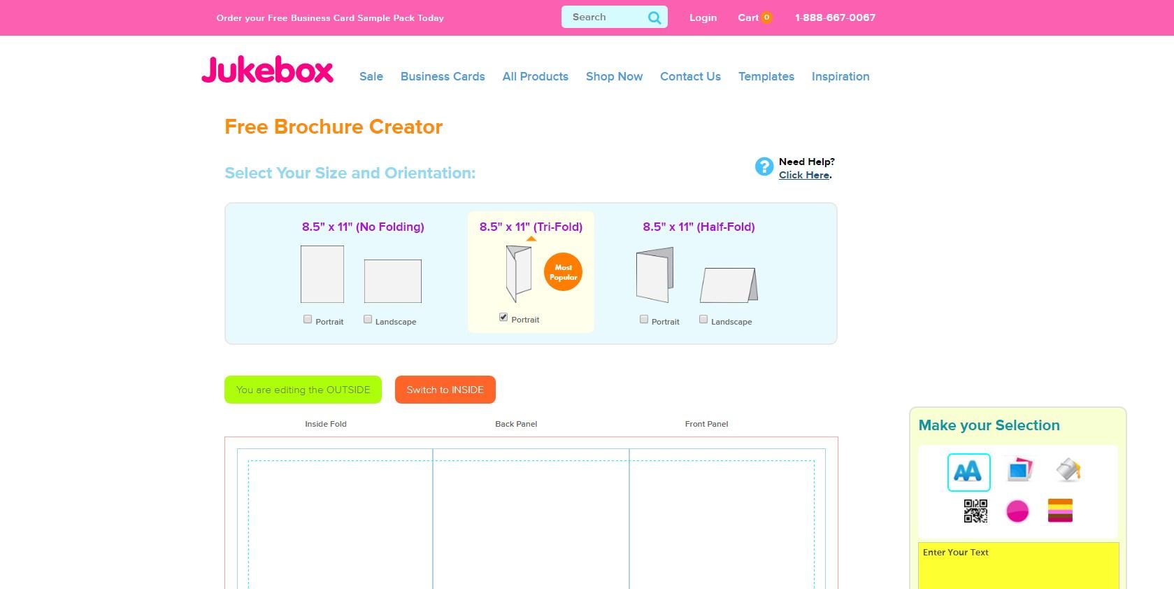 20 best free online brochure maker tools for Free online brochure maker
