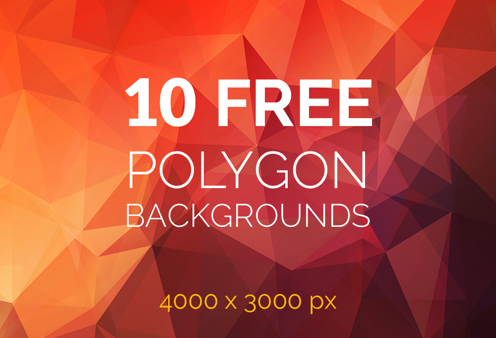 10 Best Free polygon backgrounds