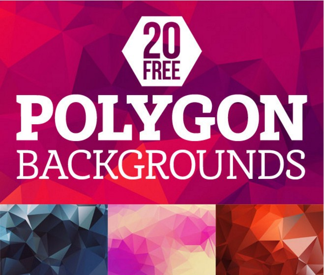 20 Polygon Backgrounds