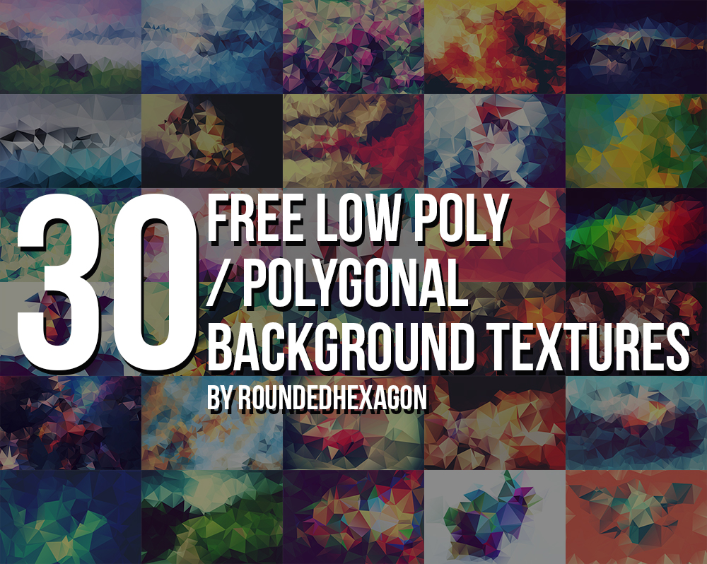 30 Best free Polygonal Backgrounds