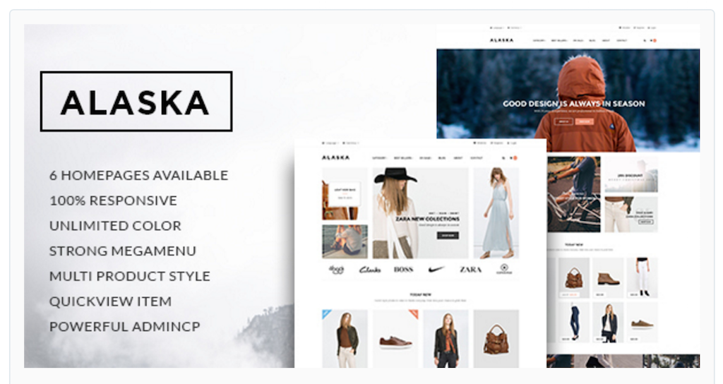 Ap Alaska Shopify Themes for online stores