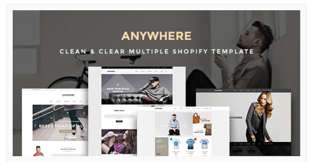 Ap Anywhere Shopify Themes for online stores