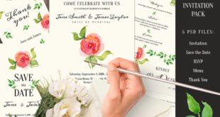 Artsy Wedding Invitations Examples Ideas