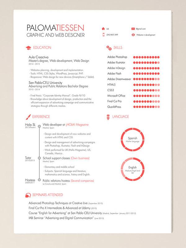 CV Resume Indesign PSD Templates