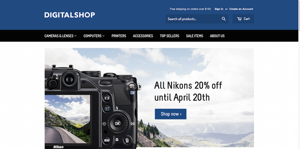 Digitalshop Responsive Shopify Theme
