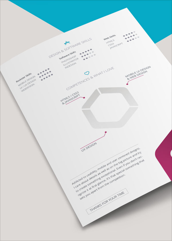 free resume template for indesign vita cv - Vita Resume