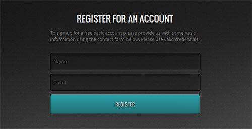 Free ACCOUNT REGISTRATION FORM