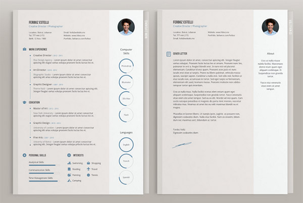 28 resume template indesign 20 beautiful free resume