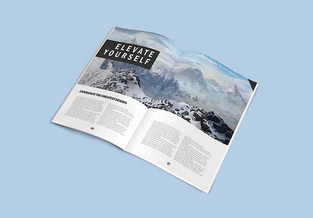 Free PSD Magazine Mockups