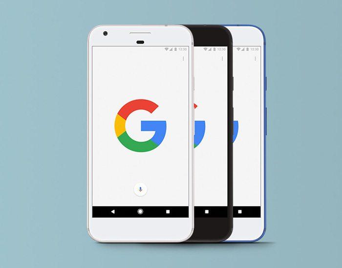 Google Pixel PSD Download