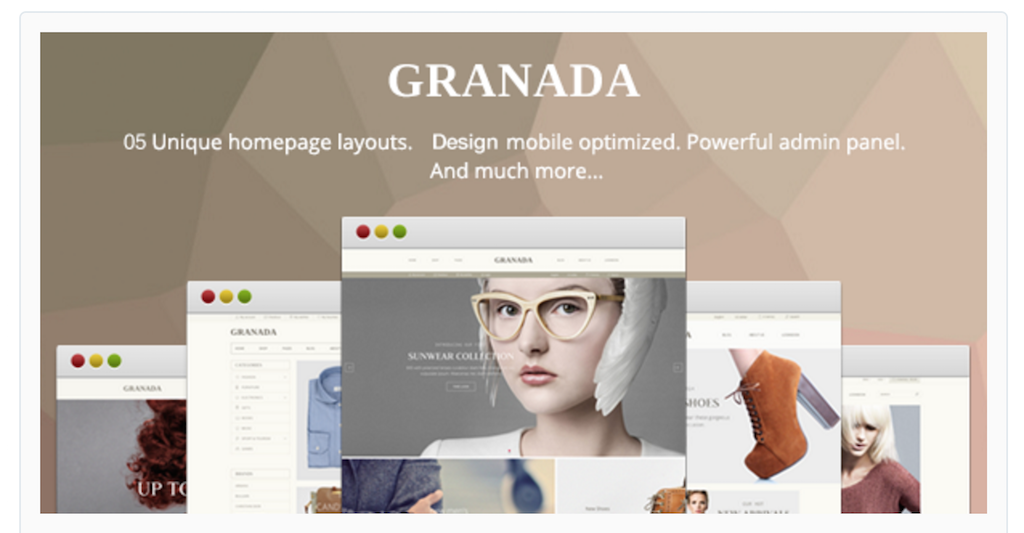 Granada Shopify Themes for online stores