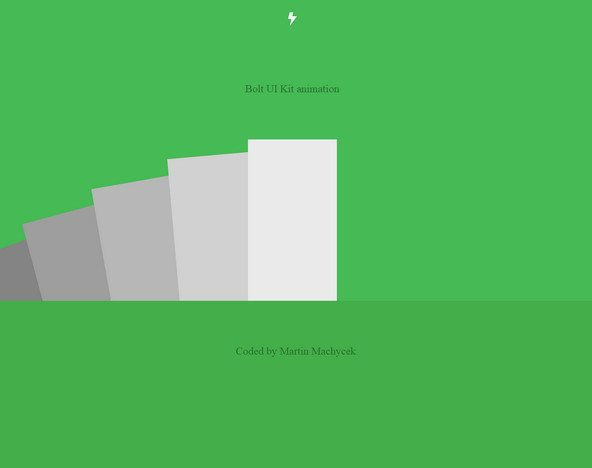HTML5 CSS3 bolt ui kit