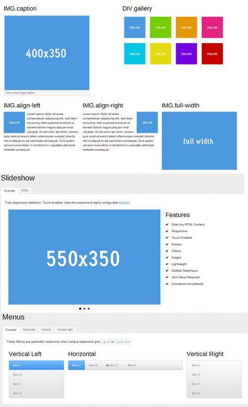 KickStart HTML5 CSS3 UI Kit