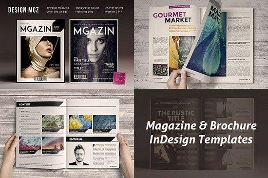 Magazine InDesign Templates free download