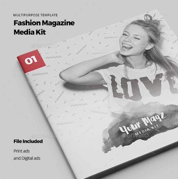 Magazine Media Kit free download
