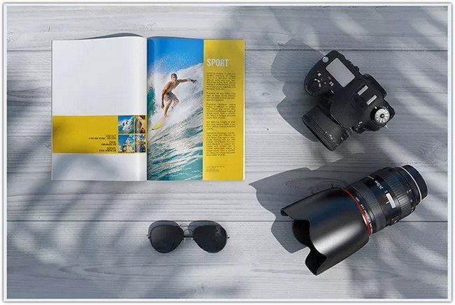 Magazine PSD Mockups 2