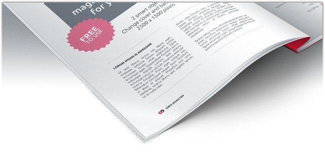 Magazine Presentation PSD